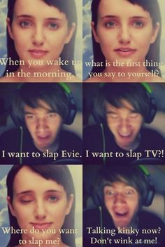 Pewds and Evie