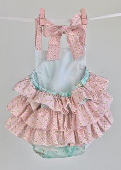 Mint Unicorn Ruffled Toddler Romper Ritzy Baby Romper Baby Baby Bloomers, Ruffle Romper, Pink And Gold, Things To Come, Rompers, Trending Outfits, Handmade Gifts, Unicorn, Mint
