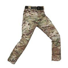 Men's Waterproof Tactical Pants Army Cargo Pants, Combat Pants, Military Pants, Military Army, Military Style, Mens Hiking Jacket, Men Hiking, Athleisure, Mens Work Pants