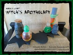Cindi Bisson McGee - Behind These Eyes : Witch's Apothecary - Just in Time for Halloween!