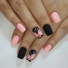 Pin by Karen Rodríguez on Maquillaje in 2019 Nexgen Nails Colors, Blue Nails, Nail Colors, My Nails, Nail Art For Girls, Nails For Kids, Fingernail Polish Designs, Nail Art Designs, Nail Manicure