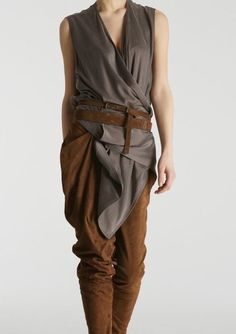 Hmm, I like something about this tunic - maybe for an archer costume.