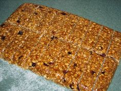 Healthy Gluten-Free Home-Made Granola Bars | Yum | #Recipe | #Glutenfree | #Homemade | #granola | #healthysnack