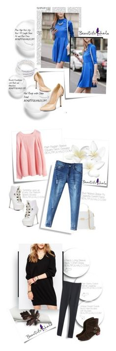 """""""Beautifulhalo/1"""" by butterflypanic ❤ liked on Polyvore featuring Post-It, bhalo and Versace"""