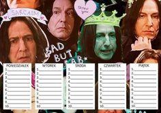 "〰OlivkaŚlivka〰 na Twitterze: ""Ma ktoś jakis smieszkowy plan lekcji? #BackToSchool"" Timetable Planner, School Timetable, Slytherin, Hogwarts, School Planner, Back 2 School, Instant Camera, Harry Potter Universal, School Notes"