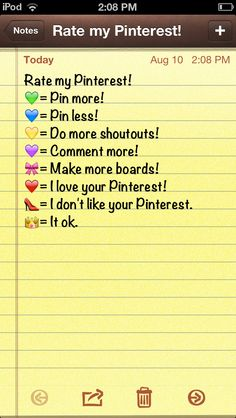What do you guys think about my Pinterest? Be honest:) (If I'm not following you and you comment I'll follow you)
