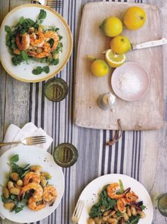 Shrimp & greens