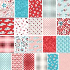 Twice as Nice 21 Fat Quarter Set by The Quilted Fish for Riley Blake