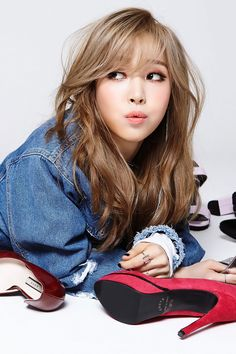 MAMAMOO Moonbyul – Concept Photo For 'Pink Funky'