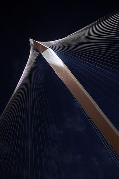 Bridge of Strings in Jerusalem by Santiago Calatrava
