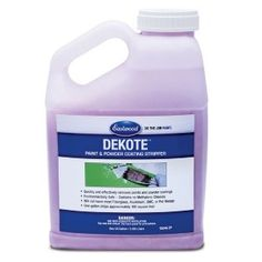 NEW IN: DeKote Paint and Powder Stripper contains no Methylene Chloride and will safely and effectively remove urethane, epoxy and powder coatings.