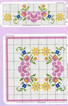 Ideas para el hogar: Plantillas de bordados , puntillas y pintura infinidad de diseños y motivos