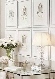 Designer wall art is all you need to tie an interior design project together. Shop luxury wall art pieces and premium wall decor from Kathy Kuo Home White Rooms, White Walls, White Bedroom, Interior And Exterior, Interior Design, Color Inspiration, Office Decor, Office Ideas, Home Accessories