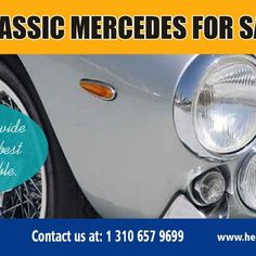 Purchasing a Classic Mercedes requires thought, research and some preparation. Classic Mercedes For Sale are usually bought by enthusiasts to work with and revel in.