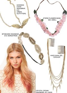 Adorn Your Hair With The Hippie Chic Head Jewelry Trend