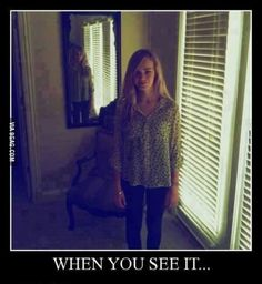 When You See It Creepy When You See It Scary gif. Scary When You See It under the table Creepy Pictures, Funny Pictures, Scary Photos, Real Ghost Pictures, When U See It, Funny Memes, Hilarious, Jokes, Funny Videos