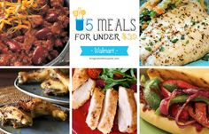 5 Meals for Under $30 at Walmart Deals - printable coupons and deals - learn how to coupon and get the best deals this week -