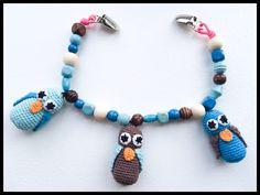 Crochet hæklet barnevognskæde #obber