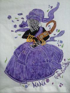 Nanã - Tinta de tecido