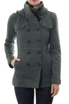 Hurley Wms Winchester Jacket - Mash Green - WWW.ALTERNATIVE113.COM Hurley, Winchester, Creative Ideas, Coat, Green, Jackets, Outfits, Fashion, Diy Creative Ideas