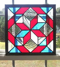 American Quilt - by SeaCheles Glass Works