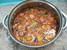 This is the sambar which you will get in all hotels along with your idli, dosa or pongal..That will be thick, creamy and full of flavours..In restaurants they won't add any vegetables except potatoes.. I actually like potatoes in my sambar, they give a unique flavour and taste to the dish.This is a special sambar...Read More