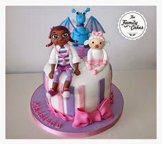 Dra Brinquedos bolo / Doc McStuffins Cake - The Family Cakes