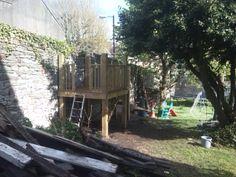 Garden play structure, Montpelier