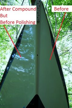 Tips For Compound, Polish & Wax - SailNet Community Sailboat Restoration, Boat Cleaning, Boating Tips, Sailing Gear, Yacht Builders, Boat Projects, Wooden Boat Plans, Boat Building Plans, Wood Boats
