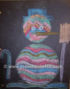 winter preschool craft ideas // preschools 4 all.