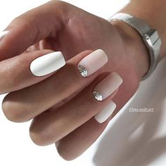 Ideas For Nails French Manicure Designs Ongles Square Nail Designs, Nail Art Designs, Nails Design, Simple Nail Designs, Cute Acrylic Nails, Fun Nails, Squoval Acrylic Nails, Gelish Nails, Nagel Hacks