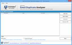 #Find and Analyze Duplicate Outlook Emails within Multiple PST Files via #SysTools #EmailDuplicate Analyzer  Know More at http://www.systoolsgroup.com/email-duplicate-analyzer.html