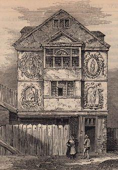 A Walk Through Walter Thornbury's London Vintage London, Old London, London Pictures, London Photos, London Drawing, Bethnal Green, Liverpool Street, Sir Paul, New River