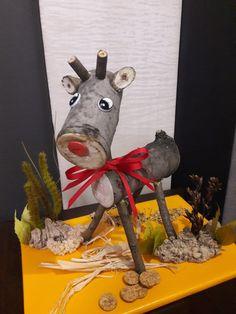 совместное семейное творчество на конкурс поделок из природного материала в детский сад