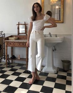 Woman All White Outfits All White Outfit, White Outfits, Summer Outfits, Instagram Look, Instagram Outfits, Instagram White, Easy Style, Looks Style, Fashion Outfits