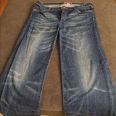 h & m jeans wide leg h & m jeans worn twice - excellent condition H&M Jeans Flare & Wide Leg