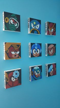 Just put these bad boys up in my son's room. :) - Imgur