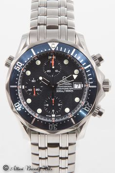 Omega Seamaster Professional Chrono Diver i Titanium. . . .  Yes det er mit ur