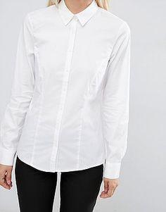Chic et élégante | mode chemise blanche toute simple