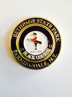 BETHPAGE BLACK host of 02 09 US OPEN Golf Course 2 Sided Ball Marker Magnamark