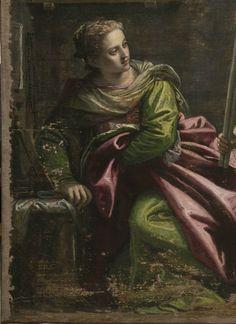 Paolo Veronese (1528–1588), St. Agatha Visited in Prison by St. Peter, (detail), 1566–67. Oil on canvas 65 1⁄2 × 81 1⁄2 inches, San Pietro Martire, Murano. Photo: Ufficio Beni Culturali del Patriarcato di Venezia.