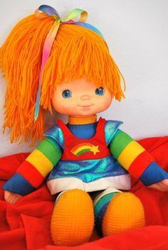 Rainbow Brite.  Mis hijas tuvieron munecas de Rainbow brite
