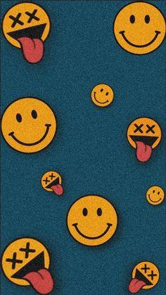 Smile Wallpaper, Hype Wallpaper, Graffiti Wallpaper, Trippy Wallpaper, Cartoon Wallpaper Iphone, Iphone Background Wallpaper, Retro Wallpaper, Cute Cartoon Wallpapers, Pretty Wallpapers