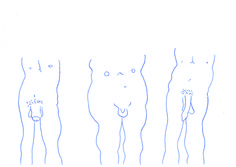 A6 Kugelschreiber Zeichnung