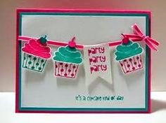 Peanuts and Peppers Papercrafting: Make It Monday - Stampin' Up! Cupcake Party Birthday Card