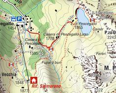 Una gita alla scoperta delle Orobie, escursioni tra natura e benessere: Rifugio Passo San Marco. Map, Location Map, Maps