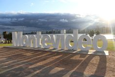 Letreiro de Montevidéu