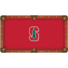 Stanford Cardinals Pool Table Cloth