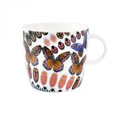 Papilio muki 3,5 dl muru malli Marimekko, Malta, Mugs, Tableware, Malt Beer, Dinnerware, Tumblers, Tablewares, Mug