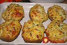 Labužnícke smotanové zemiaky, ak podávate k mäsu, vynechajte šunku. Ja ich podávam aj ako chutnú večeru, alebo ako výborné predjedlo!